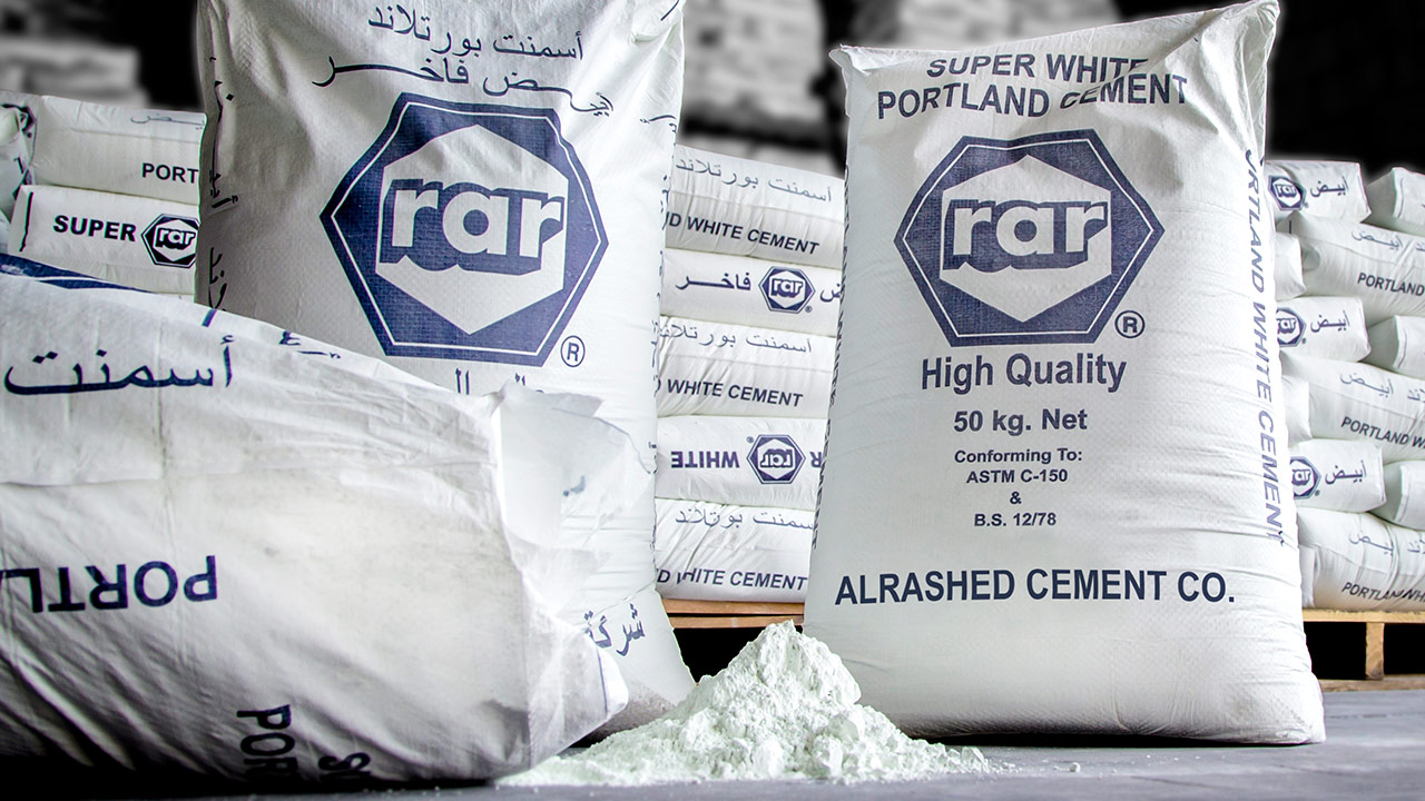 White Cement Al Rashed Cement